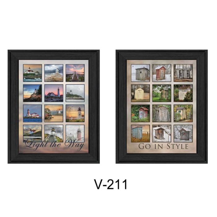Light Your Way Collection By Lori Deiter Framed Wall Art