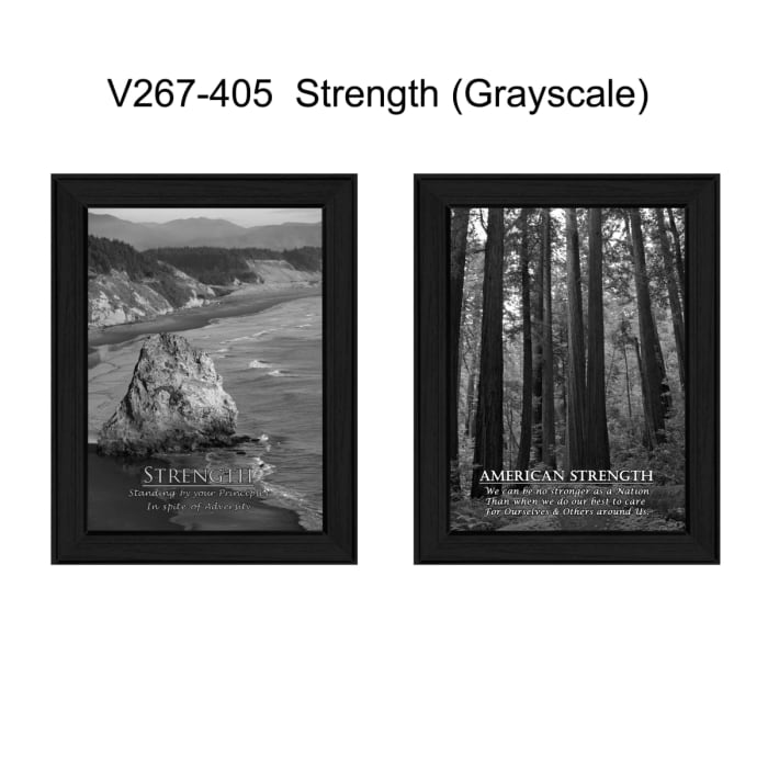 Strength Collection Framed Wall Art