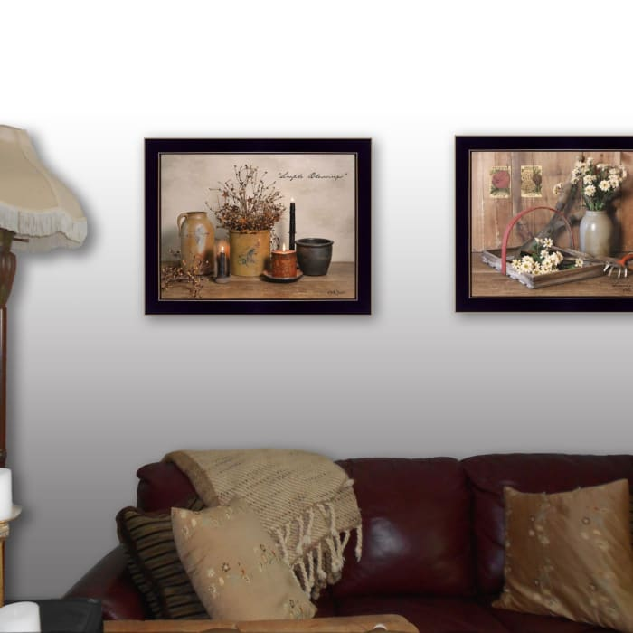 Simple Blessings Collection By Billy Jacobs Framed Wall Art