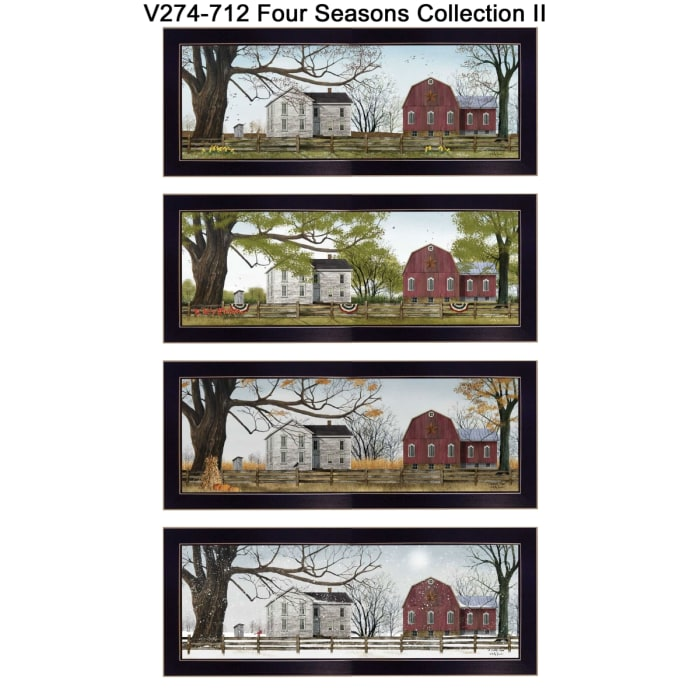 Four Seasons Collection II Collection By Billy Jacobs Framed Wall Art