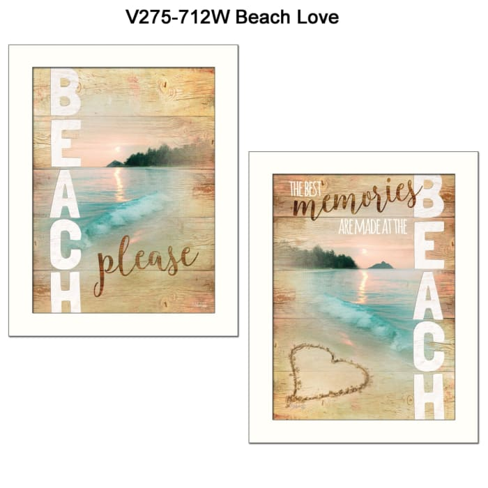 Beach Please Collection By Marla Rae Framed Wall Art