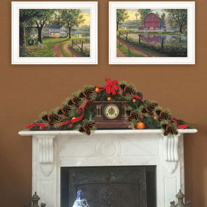 Coming Home Vignette Collection By Kim Norlien Framed Wall Art