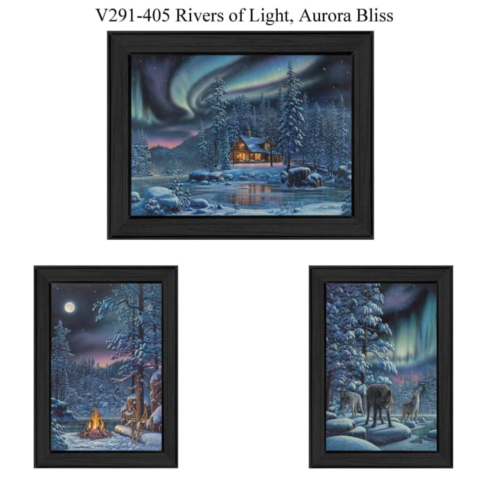 Rivers Of Light Collection By Kim Norlien Framed Wall Art