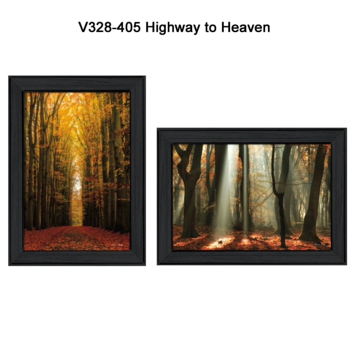 Highway to Heaven Collection By Martin Podt Framed Wall Art
