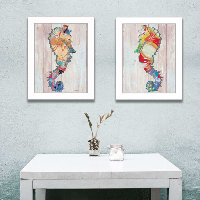 Sea Horses Collection By Sear Framed Wall Art