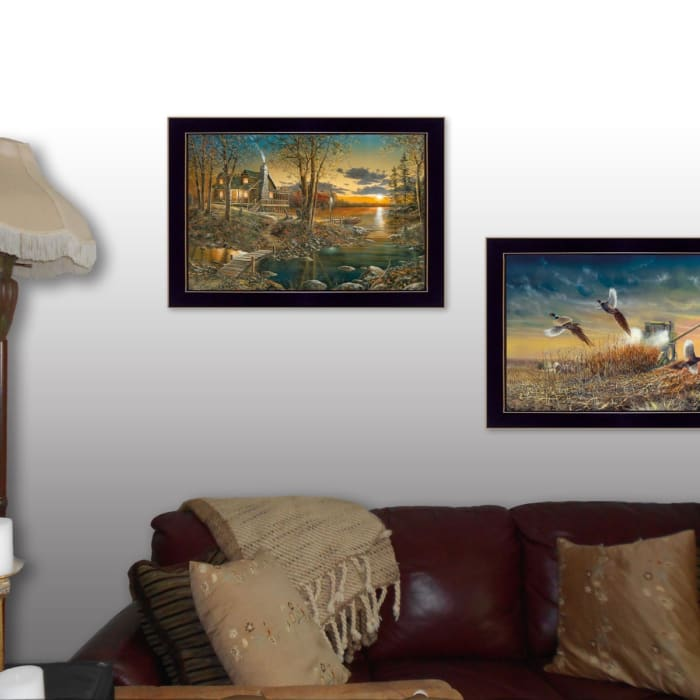 Comfort of Home Collection By Jim Hansen Framed Wall Art
