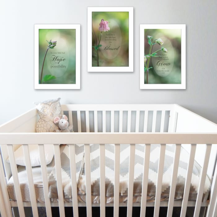 Blessed Growth Collection By Robin-Lee Vieira Framed Wall Art