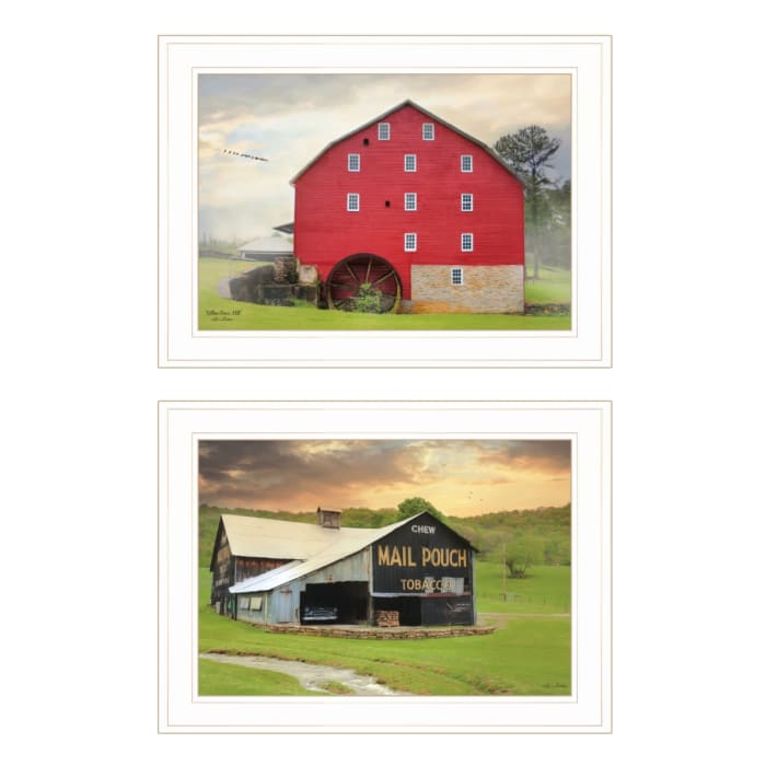 Mail Pouch Barn and Mill Collection By Lori Deiter Framed Wall Art