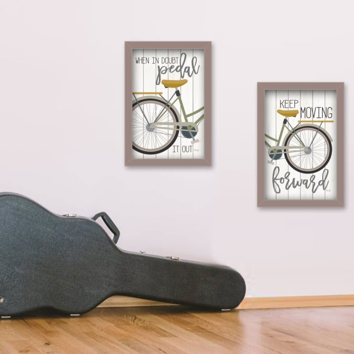 Pedal It Out by Marla Rae Framed Wall Art