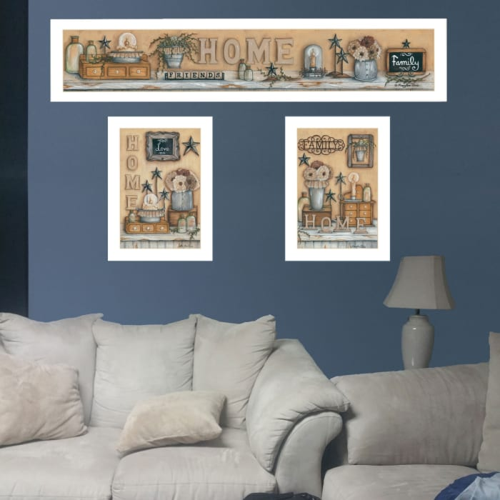 Where Family & Friends Gather by Mary Ann June Framed Wall Art