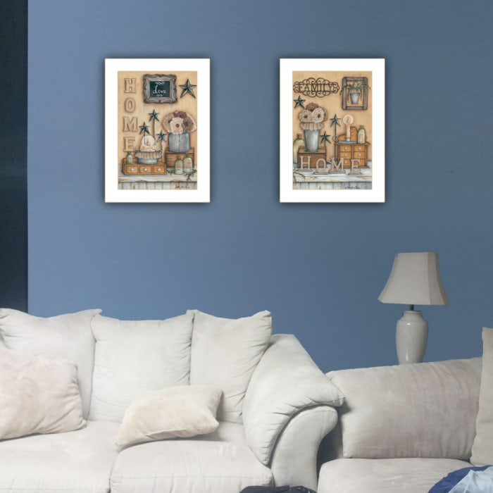 Where Family & Friends Gather II by Mary Ann June Framed Wall Art