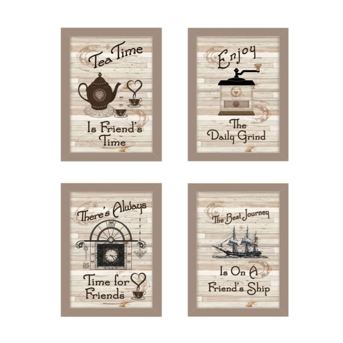Friendship Collection by Millwork Engineering Framed Wall Art
