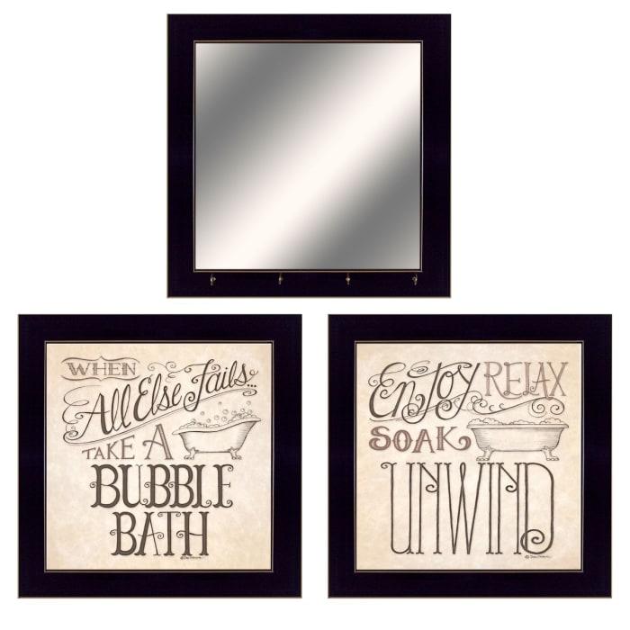 Soak & Unwind By Deb Strain Ready Framed Wall Art