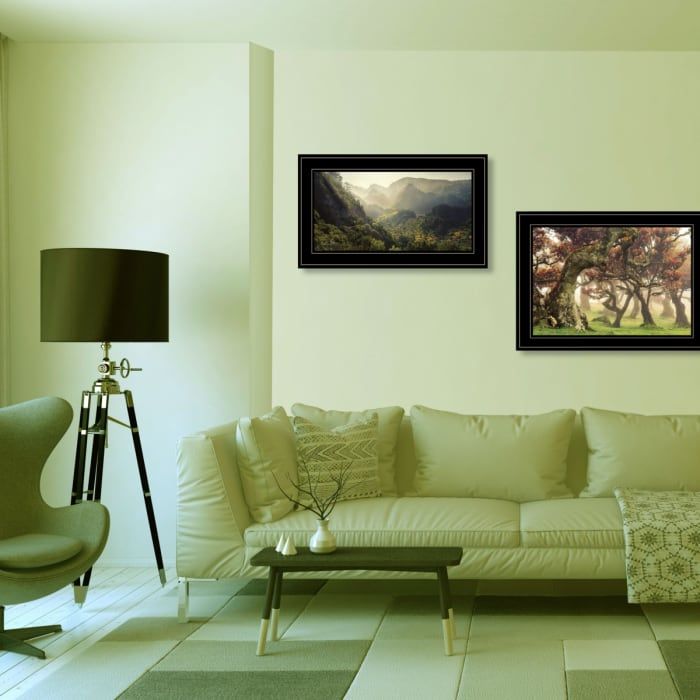 The Land of Hobbits 2-Piece Vignette by Martin Podt Framed Wall Art