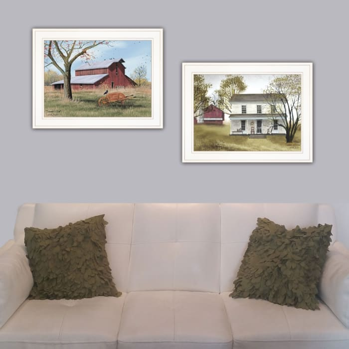 Summer's End 2-Piece Vignette by Billy Jacobs Framed Wall Art