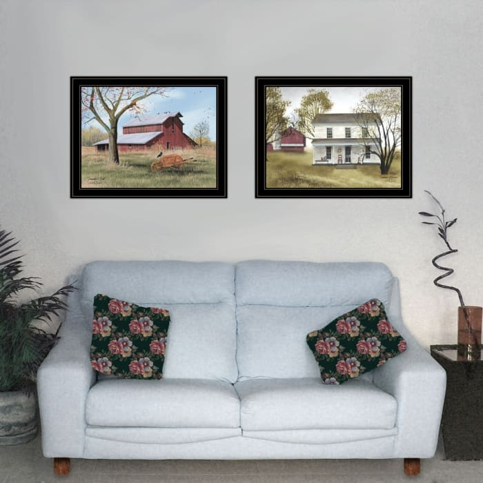 End of Summer 2-Piece Vignette by Billy Jacobs Framed Wall Art
