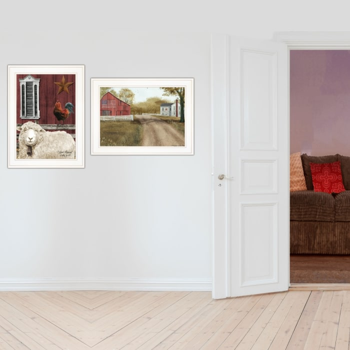 Good Morning 2-Piece Vignette by Billy Jacobs Framed Wall Art