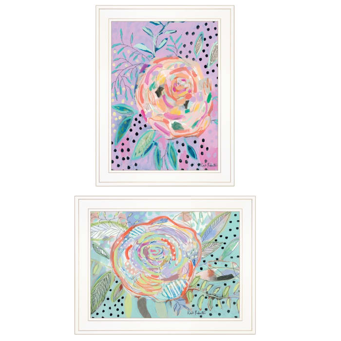 Bloom for Yourself 2-Piece Vignette by Kait Roberts Framed Wall Art