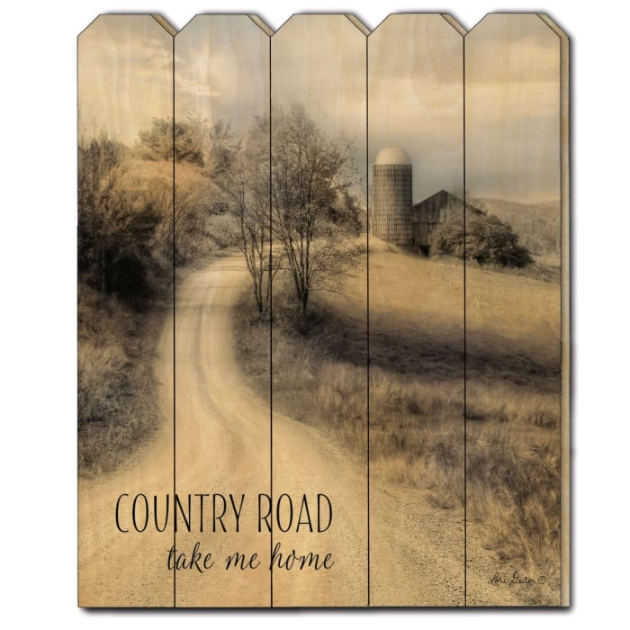 Country Road Take Me Home by Lori Deiter Wall Decor
