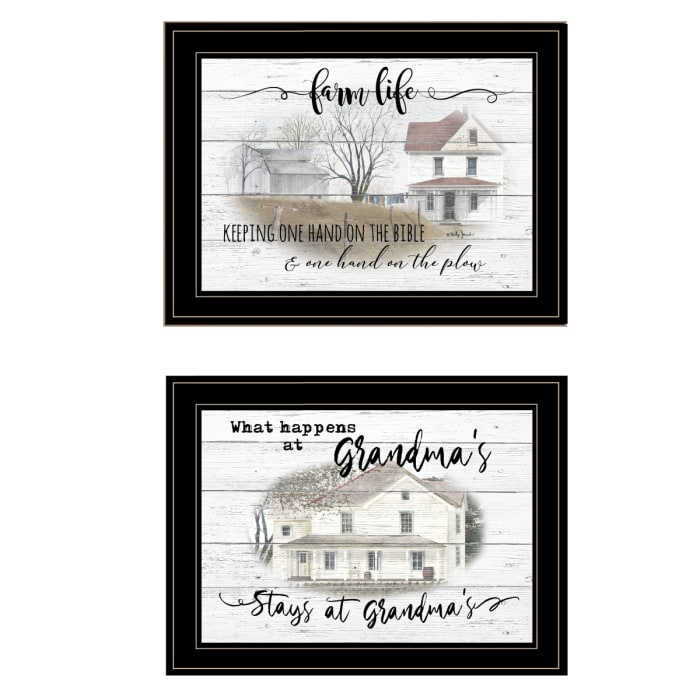 Stays at Grandma's By Billy Jacobs Framed Wall Art