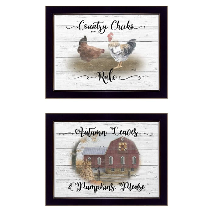 Country Living By Billy Jacobs Framed Wall Art