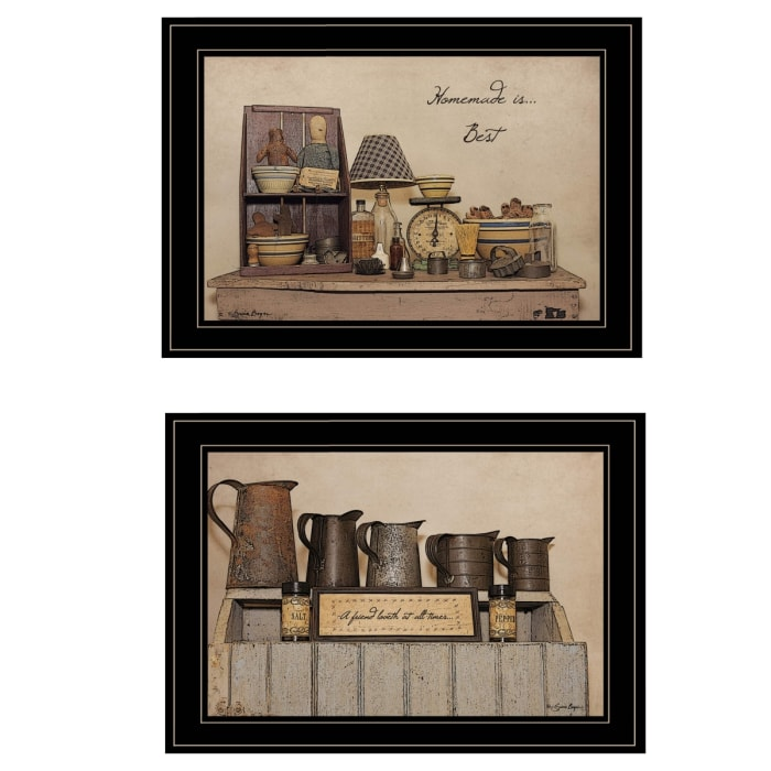 Homemade is Best By Susie Boyer Framed Wall Art