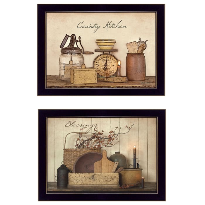 Candlelight and Flowers By Susie Boyer Framed Wall Art