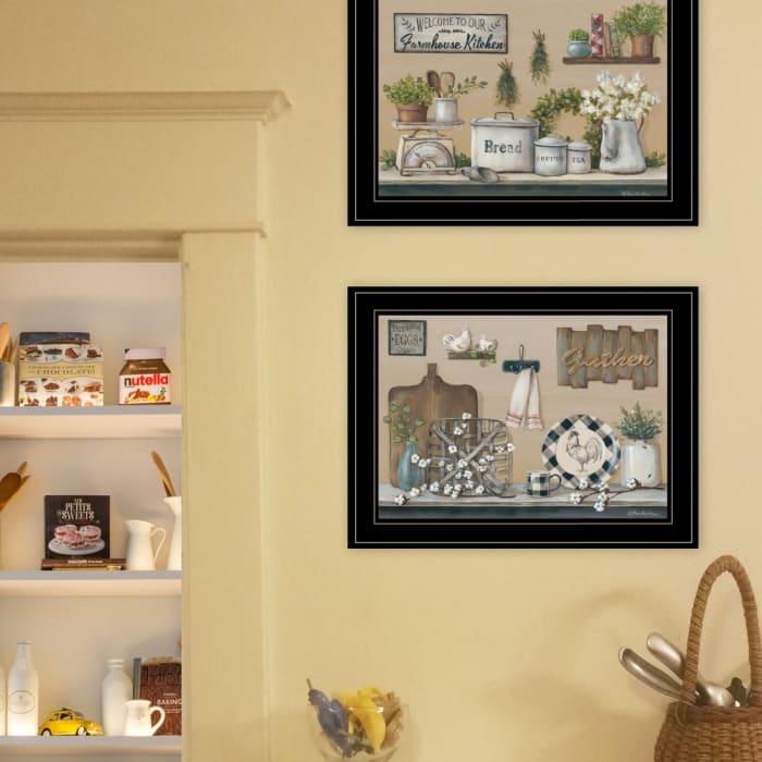 Farmhouse Kitchen By Pam Britton Framed Wal Art