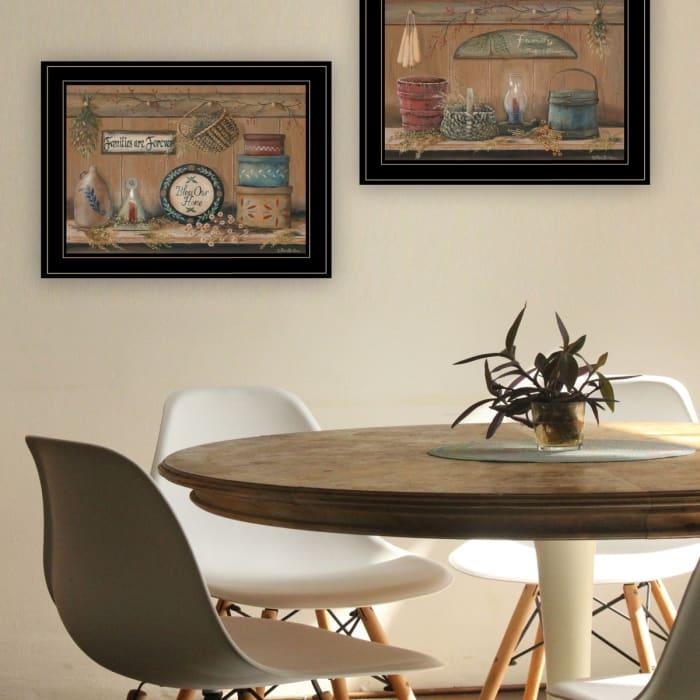 Shelf Treasures By Pam Britton Framed Wall Art