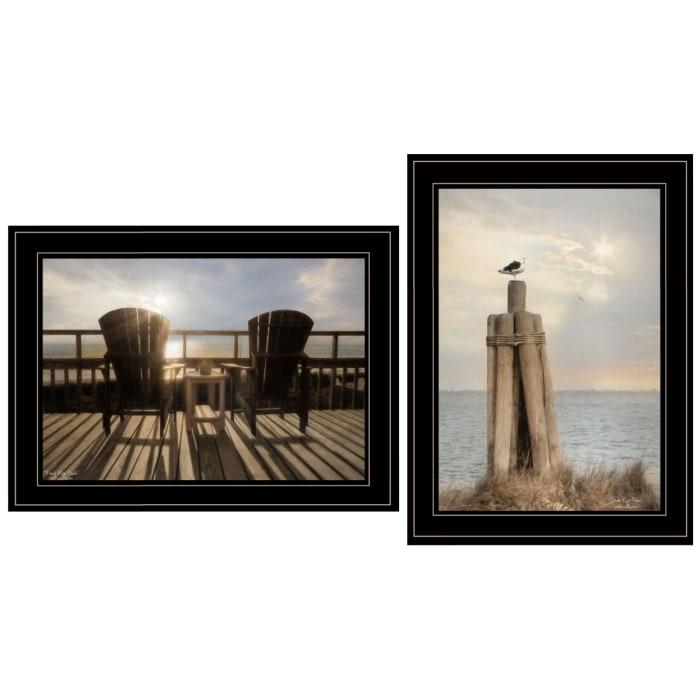 By The Sea By Lori Deite Framed Wall Art