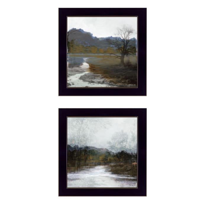 Winter Landscape By Stellar Design Studio Framed Wall Art