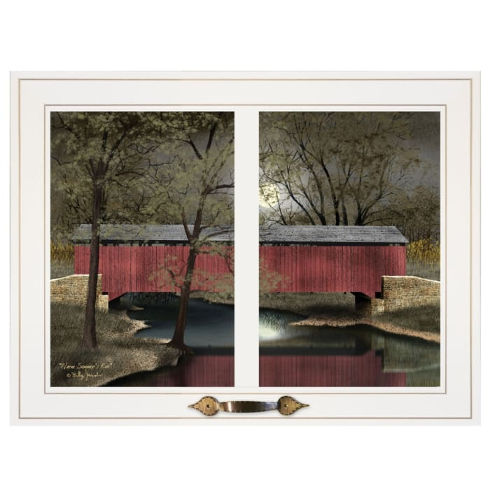 Warm Summer's Eve by Billy Jacobs Framed Wall Art