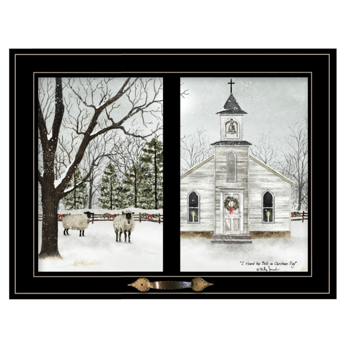 I Heard the Bells on Christmas Day by Billy Jacobs Framed Wall Art