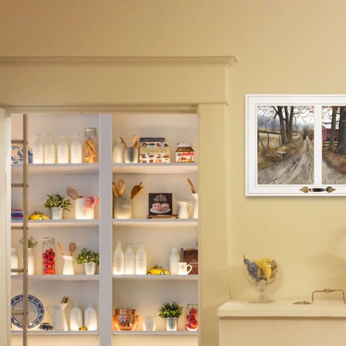 The Road Home by Billy Jacobs Framed Wall Art