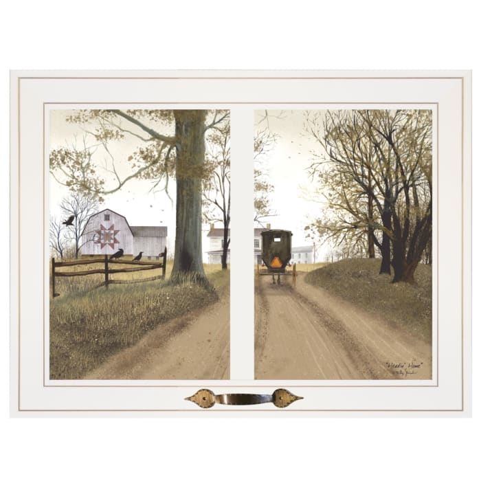 Heading Home by Billy Jacobs Framed Wall Art