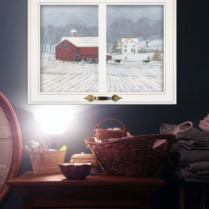 The Home Place by Bonnie Mohr Framed Wall Art