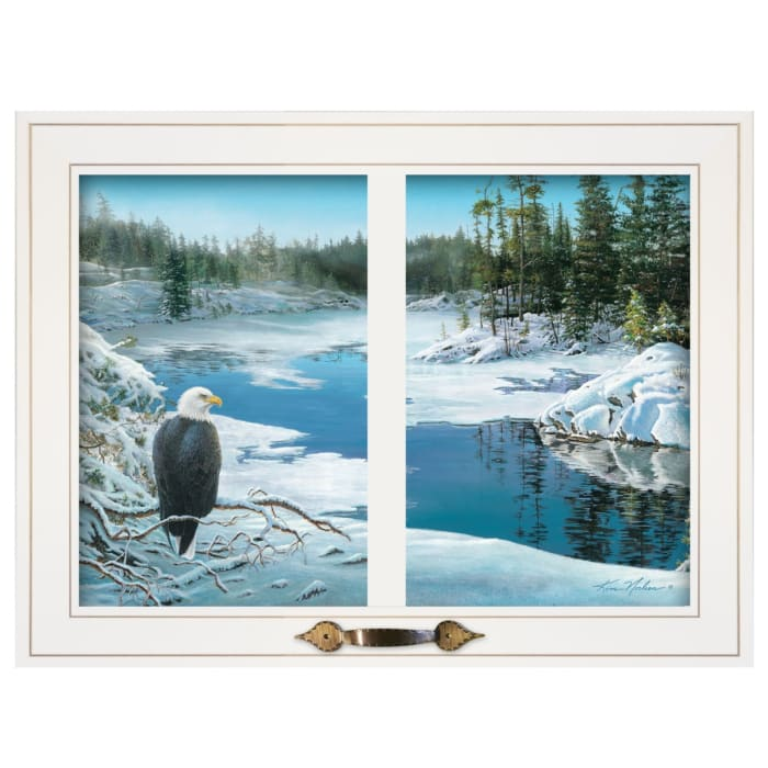 The Lookout by Kim Norlien Framed Wall Art