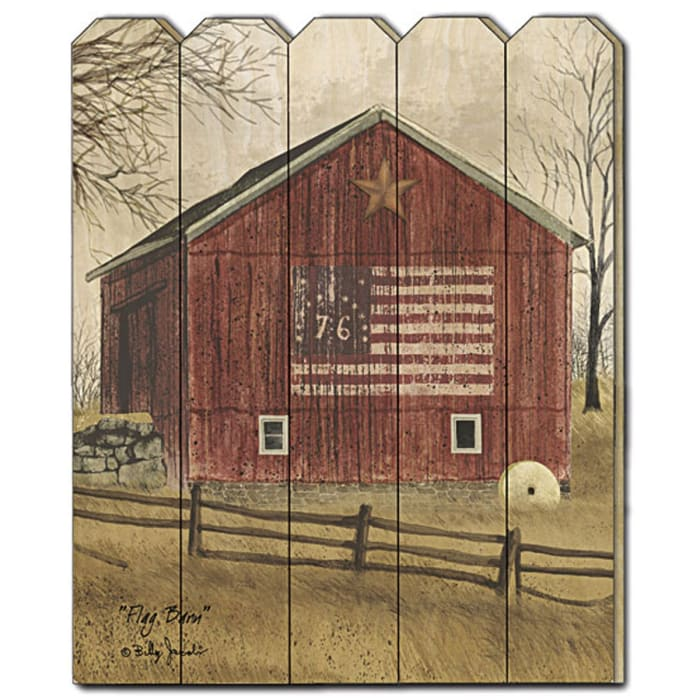 Flag Barn by Billy Jacobs Wall Decor