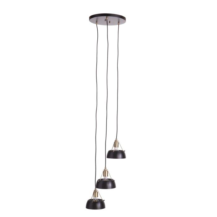 Jonas  Contemporary 3-Light Cluster Pendant