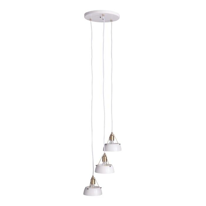Mathilde Contemporary 3-Light Cluster Pendant