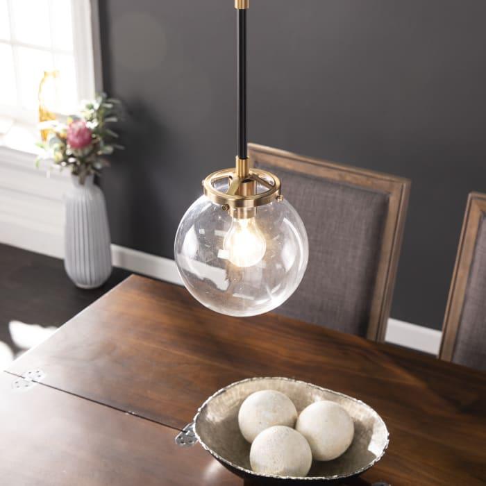 Roscoe  Contemporary Globe Pendant Lamp