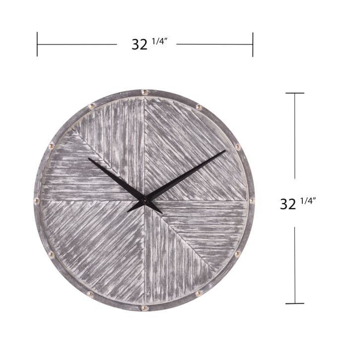 Southwold Round Hanging Wall Clock