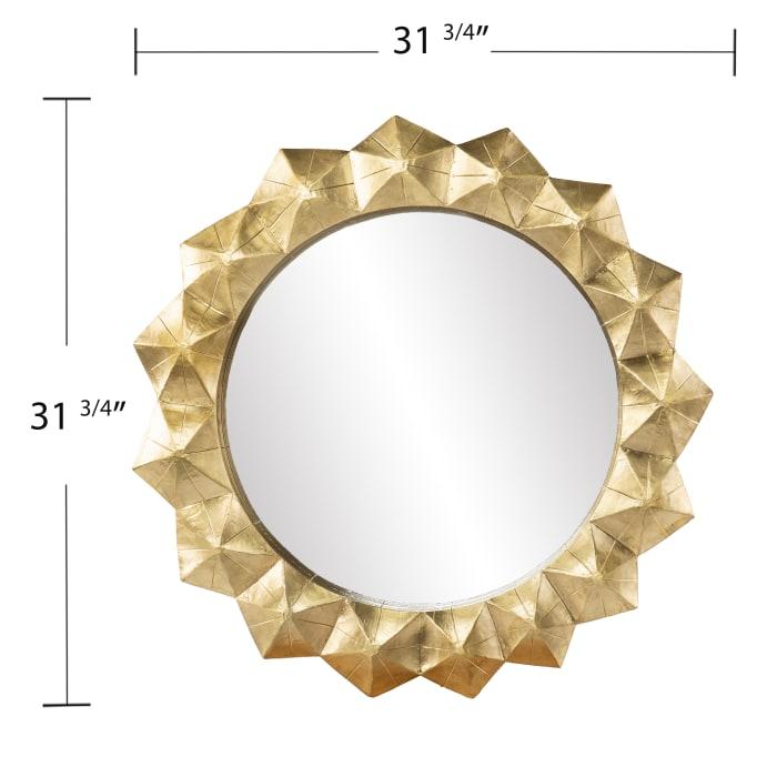 Lucy Round Decorative Mirror