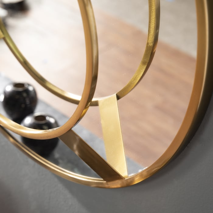 Tadley Sculptural Wall Mirror