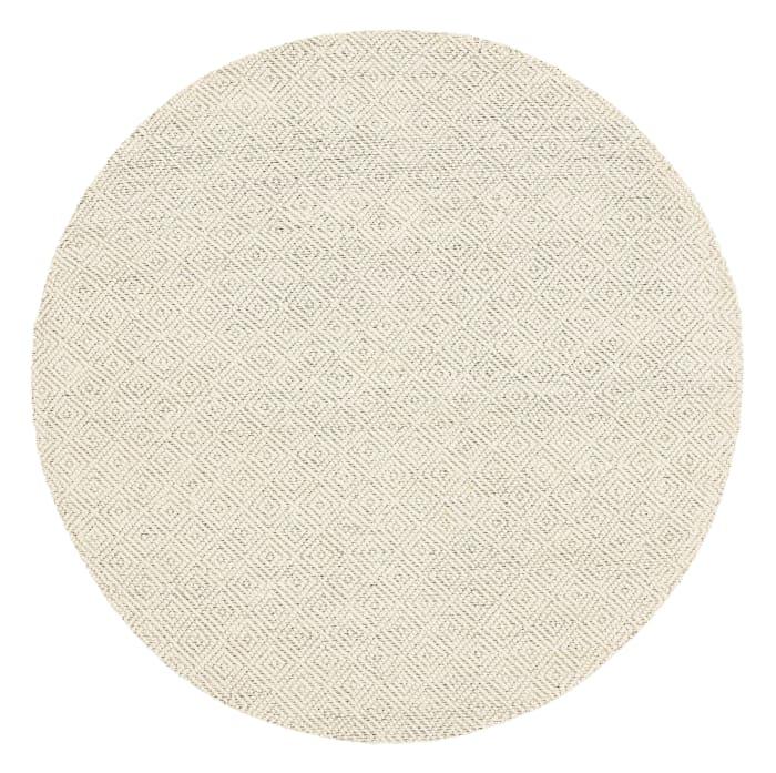 Chipley 7' X 7' 503 Ivory Wool Rug