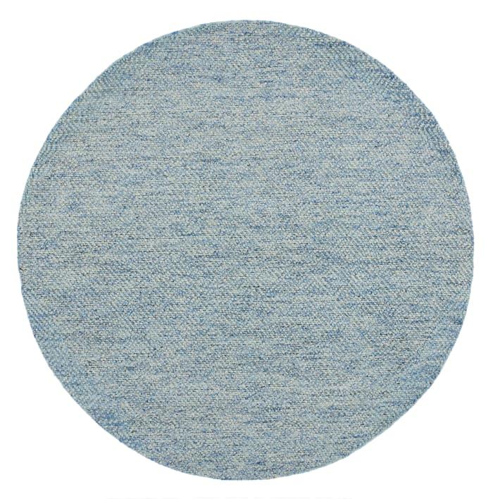 Chipley 7' X 7' 503 Blue Wool Rug