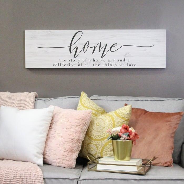 Home Quote Wall Decor