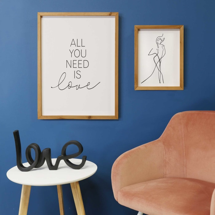 All You Need is Love Framed Wall Decor