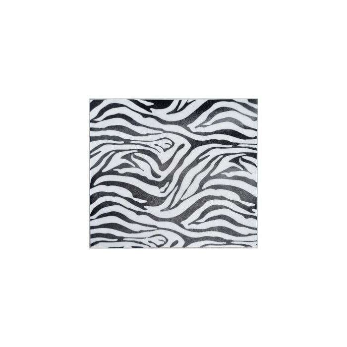 Faux Zebra Skin Wall Tile Small Iron Wall Decor