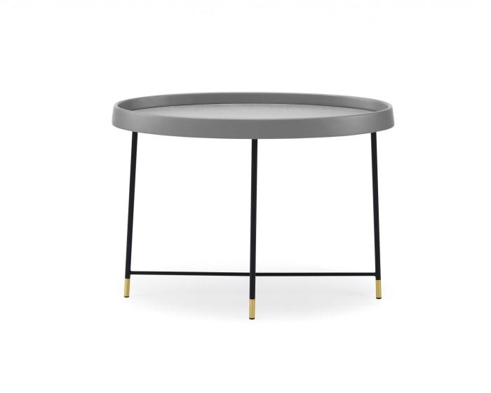 Black Metal Side Table